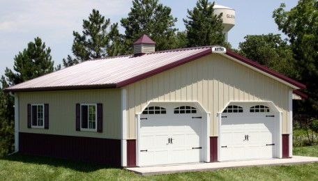 285-07 <br> Classic Burgundy & Lt. Stone